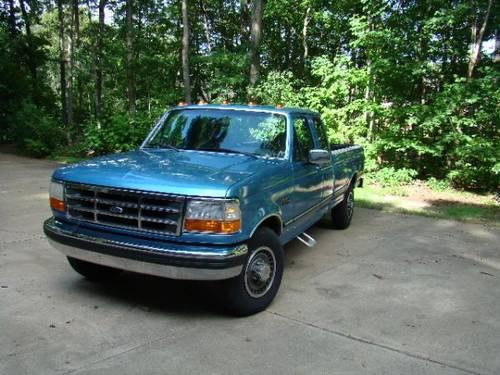 1992 ford f250 diesel for sale in greensboro north carolina classified. Black Bedroom Furniture Sets. Home Design Ideas