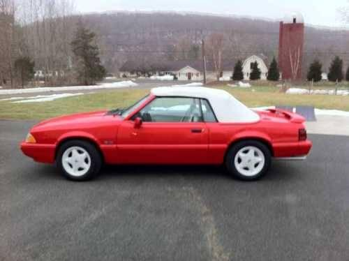 1992 ford mustang lx convertible american classic in for Classic american convertibles for sale
