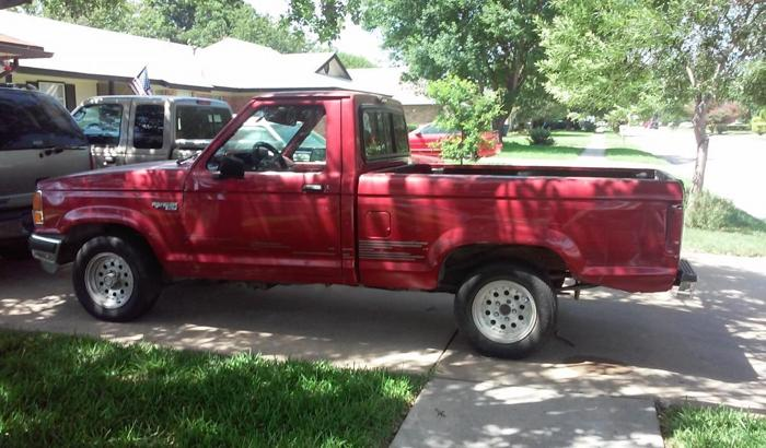 1992 ford ranger for sale in killeen texas classified. Black Bedroom Furniture Sets. Home Design Ideas