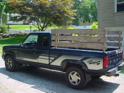 1992 ford ranger stx 4x4 pickup truck 4 wheel drive rack body for sale in fenwick connecticut. Black Bedroom Furniture Sets. Home Design Ideas