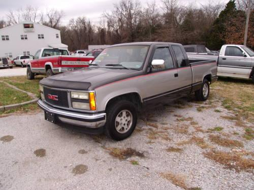 1992 Gmc Sierra 1500 Club Coupe 6 5 Ft Bed 2wd For Sale