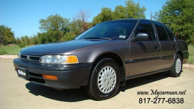 1992 honda accord dx for sale in arlington texas classified. Black Bedroom Furniture Sets. Home Design Ideas