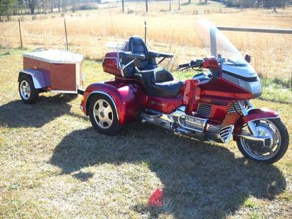 1992 HONDA goldwing TRIKE and TRAILER