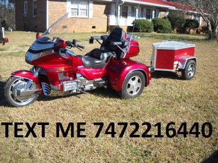 1992 honda goldwing trike and trailer for sale in concord north carolina classified. Black Bedroom Furniture Sets. Home Design Ideas