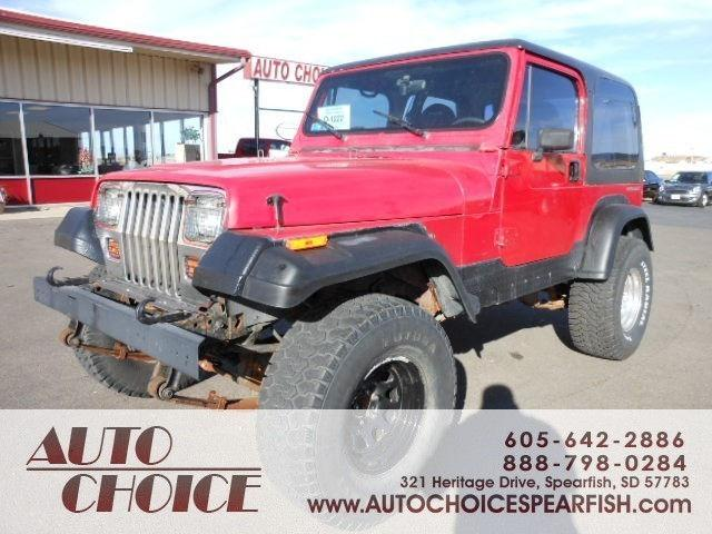 1992 jeep wrangler for sale in spearfish south dakota for Spearfish motors spearfish sd