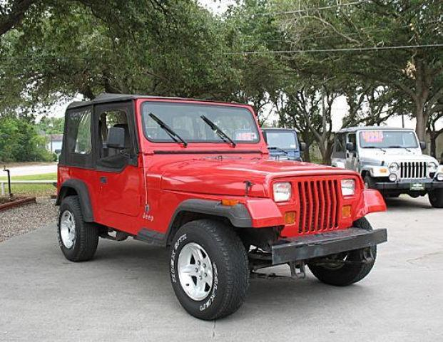 1992 jeep wrangler s for sale in league city texas classified. Black Bedroom Furniture Sets. Home Design Ideas