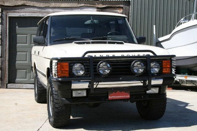 1992 land rover range rover county for sale in birmingham. Black Bedroom Furniture Sets. Home Design Ideas