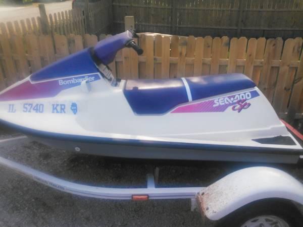 1992 Seadoo Sp Jet Ski For Sale In Lodge Illinois