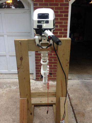 1993 15hp johnson outboard motor w electric start for sale for Electric outboard motors for sale