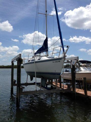 1993 27 Ft Catalina Sailboat For Sale In Apollo Beach