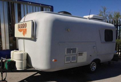 1993 Burro 17 Fiberglass Travel Trailer
