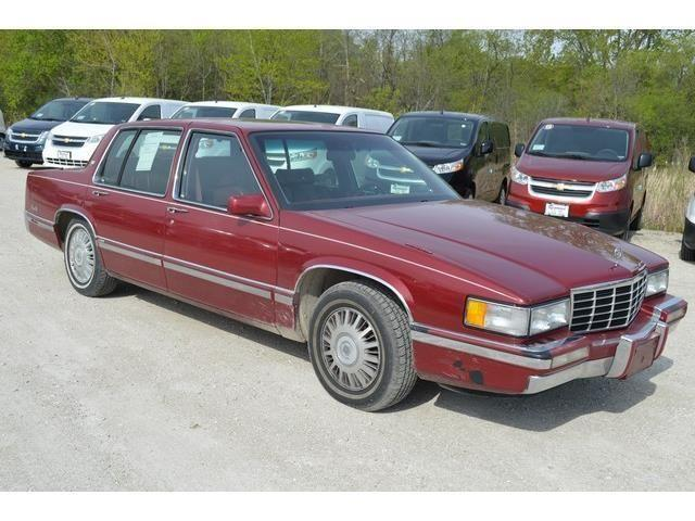 1993 cadillac deville 4d sedan for sale in antioch illinois classified. Black Bedroom Furniture Sets. Home Design Ideas