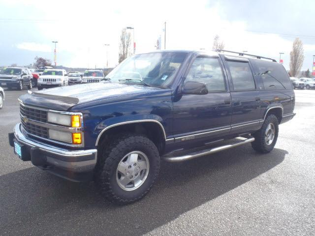 1993 chevrolet suburban 1500 for sale in salem oregon. Black Bedroom Furniture Sets. Home Design Ideas