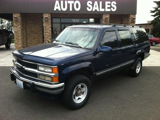 1993 chevrolet suburban 2500 for sale in puyallup. Black Bedroom Furniture Sets. Home Design Ideas