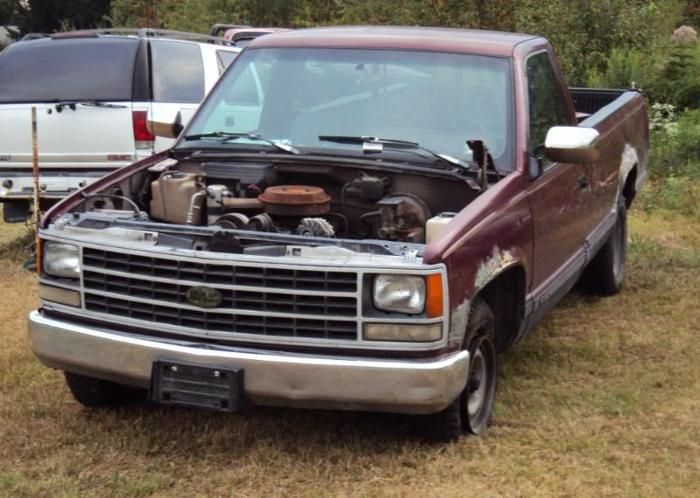 1993 chevy 1500 2wd good 4l60e gmc 88 98 16125 for sale in erie pennsylvania classified. Black Bedroom Furniture Sets. Home Design Ideas