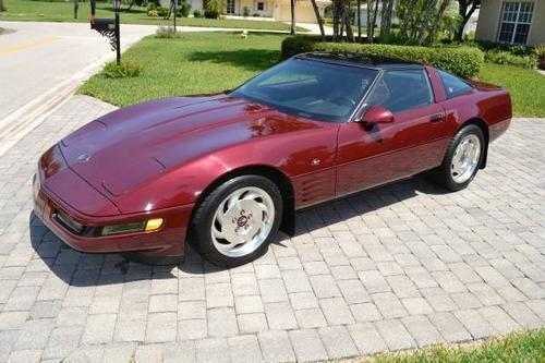 1993 chevy corvette 40th anniversary edition for sale in naples florida classified. Black Bedroom Furniture Sets. Home Design Ideas
