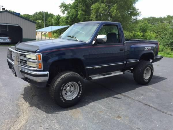 1993 chevy silverado 1500 sportside z71 lifted for sale in east peoria illinois classified. Black Bedroom Furniture Sets. Home Design Ideas