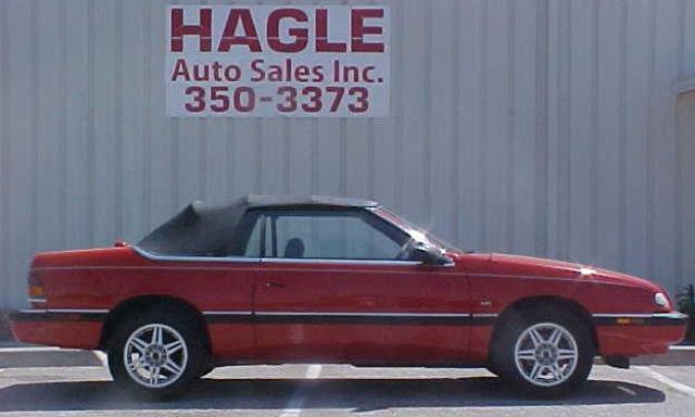 1993 Chrysler Lebaron Lx For Sale In Yukon Oklahoma