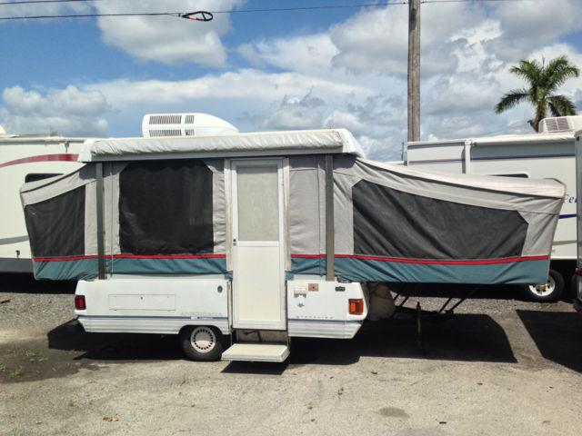 1993 Coleman Grandview Americana Folding Pop-Up Camper