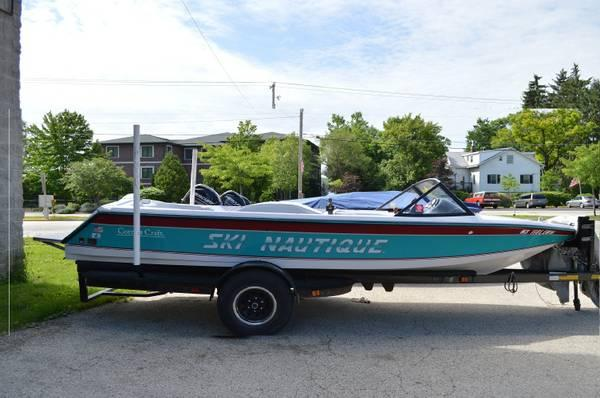 1993 correct craft ski nautique boat for sale in twin