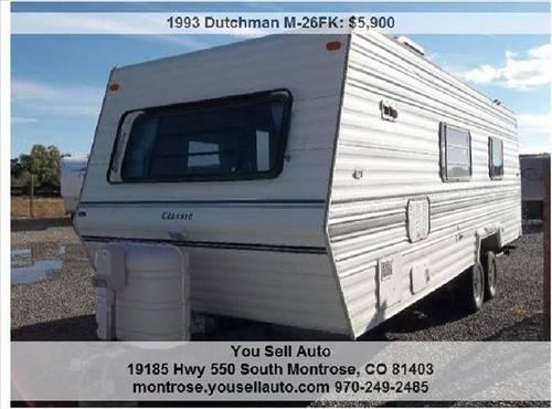 1993 DUTCHMAN M-26FK RV - Camper VERY CLEAN