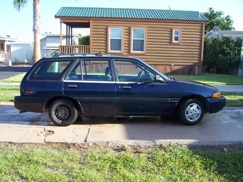 1993 ford escort wagon standard for sale in progreso lakes texas classified. Black Bedroom Furniture Sets. Home Design Ideas