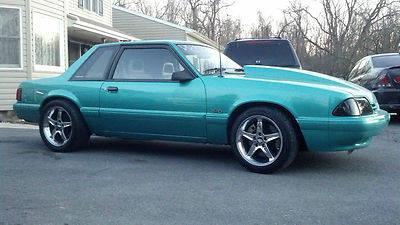 1993 Ford Mustang LX 5 0L Notchback