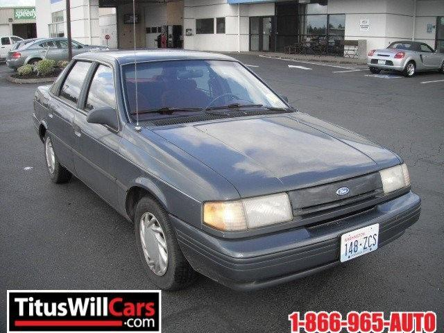 1993 ford tempo gl for sale in chehalis washington. Black Bedroom Furniture Sets. Home Design Ideas