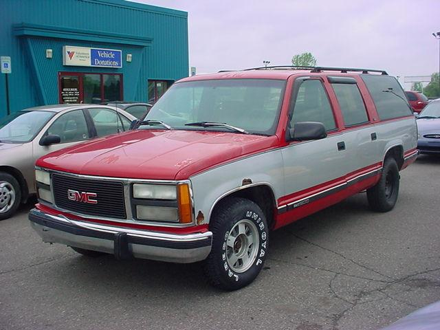 1993 gmc suburban 1500 for sale in pontiac michigan. Black Bedroom Furniture Sets. Home Design Ideas