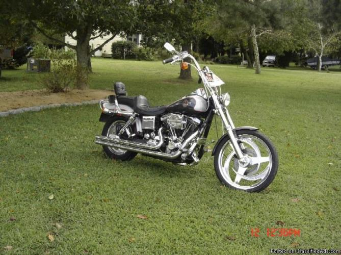 Harley Davidson Dyna Wide Glide Th Anniversary For Sale