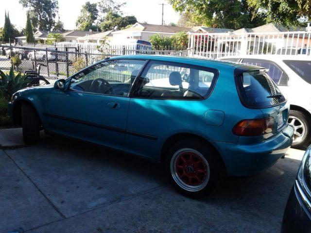 1993 honda civic si hatchback for sale in compton california classified. Black Bedroom Furniture Sets. Home Design Ideas