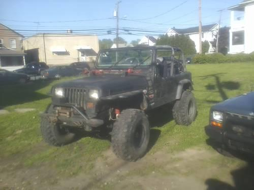 1993 Jeep Wrangler Lifted