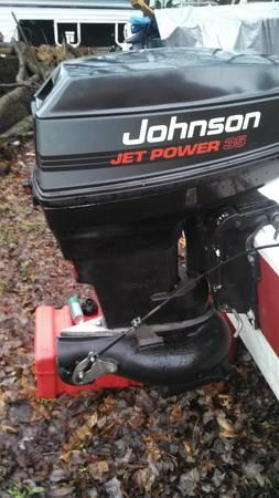 1993 Johnson 50/35 jet outboard - $2600