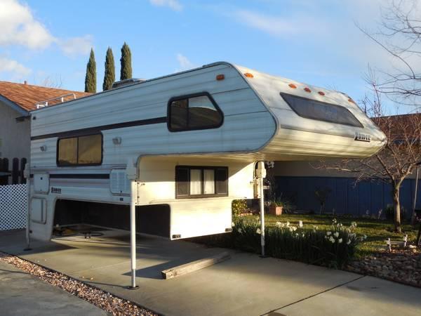 1993 Lance Cabover Camper For Sale In Vacaville