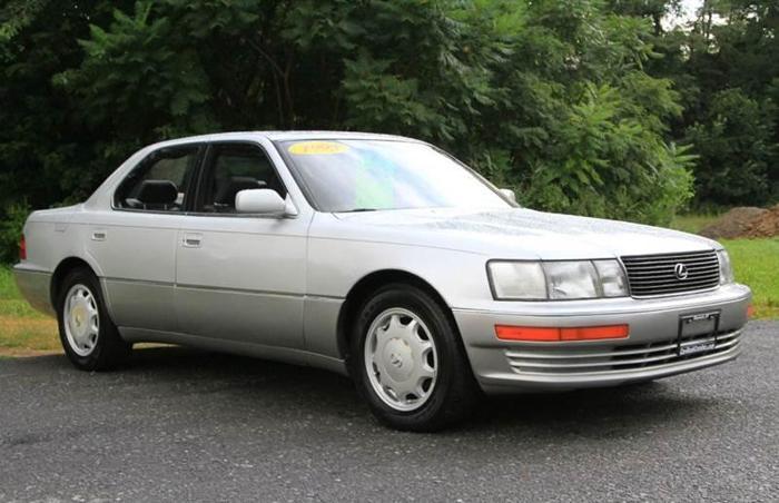 Lexus Ls Dr Sedan Americanlisted