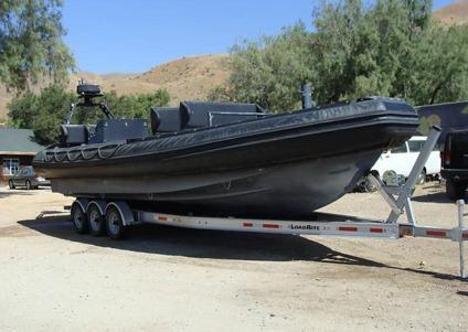 11 Meter Naval Special Warfare Rigid Inflatable Boat (RIB)