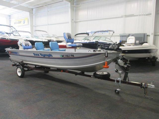 1993 sea nymph 165 bt w johnson 30hp outboard for sale in for Outboard motors for sale in michigan