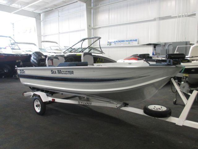 1993 sylvan 15 sea monster sc for sale in kalamazoo for Used aluminum fishing boats for sale in michigan