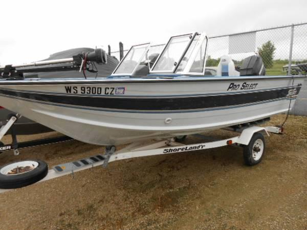 1993 sylvan 16 pro select for sale in appleton for Sylvan fishing boats