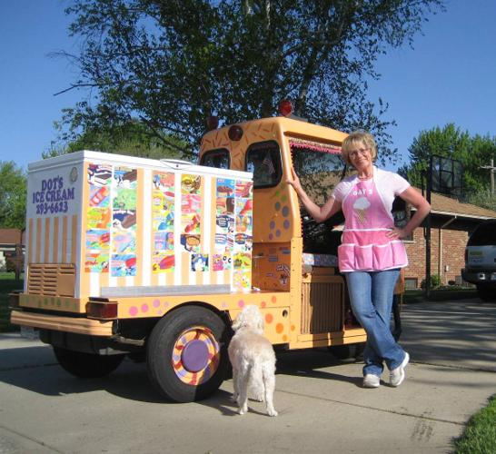 1993 Three-wheel Cushman Truckster Ice Cream Truck