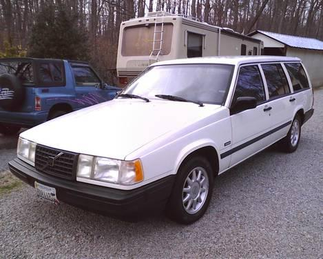 1993 volvo station wagon 940 turbo for sale in danville virginia classified. Black Bedroom Furniture Sets. Home Design Ideas