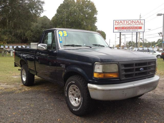 1993 ford f150 xl for sale in jacksonville florida classified. Black Bedroom Furniture Sets. Home Design Ideas