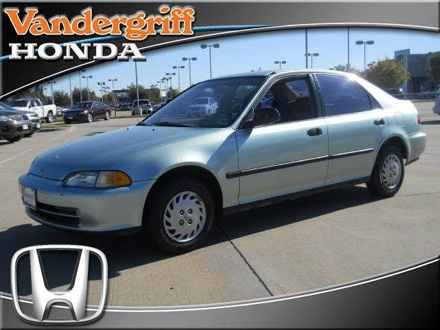 1993 honda civic lx for sale in arlington texas classified. Black Bedroom Furniture Sets. Home Design Ideas