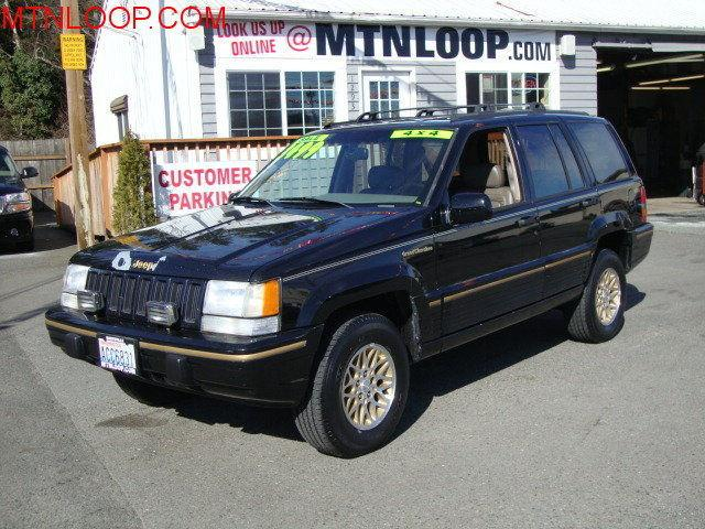 1993 jeep grand cherokee limited 4wd for sale in marysville washington classified. Black Bedroom Furniture Sets. Home Design Ideas