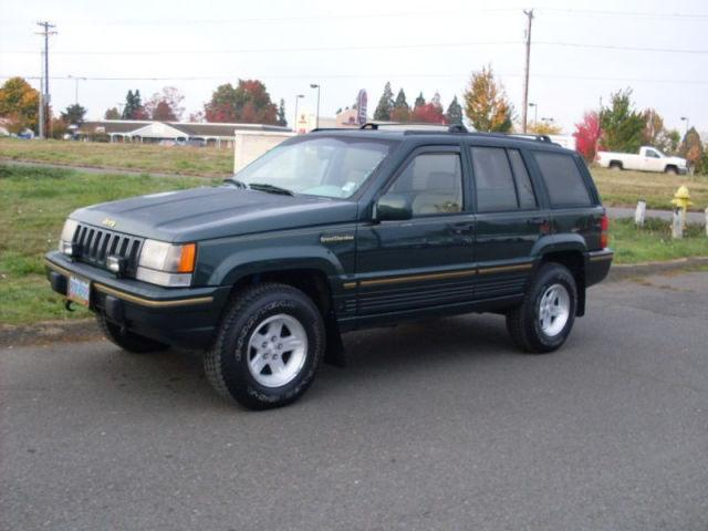 1993 jeep grand cherokee limited 4wd for sale in salem oregon classified. Black Bedroom Furniture Sets. Home Design Ideas