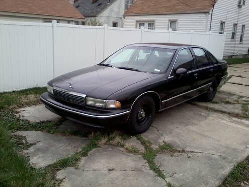 1994 9c1 chevrolet caprice police car impala ss for sale in toledo ohio classified. Black Bedroom Furniture Sets. Home Design Ideas