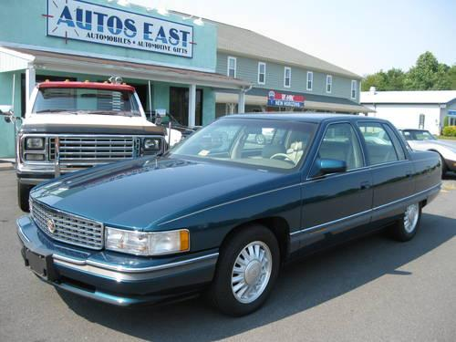 1994 cadillac deville concours 48 000 original miles gorgeous for sale in madison virginia. Black Bedroom Furniture Sets. Home Design Ideas