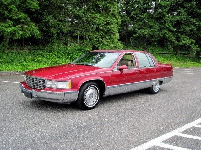 1994 cadillac fleetwood for sale in seattle washington classified. Cars Review. Best American Auto & Cars Review