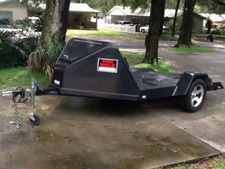 1994 chariot motorcycle trailer hauls 1 2 3 bikes or large lawnmower for sale in brandon. Black Bedroom Furniture Sets. Home Design Ideas