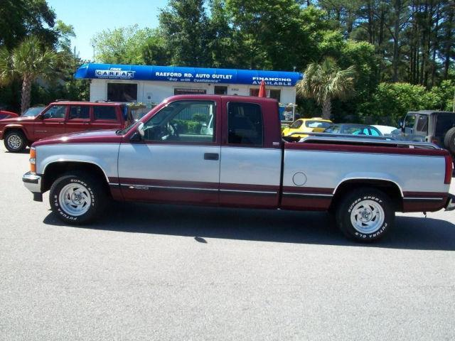 Carfax Report Cost >> 1994 Chevrolet 1500 Cheyenne for Sale in Fayetteville